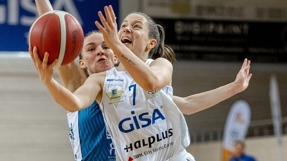 Gisa Lions Halle Heidelberg DBBL Basketball-Bundesliga