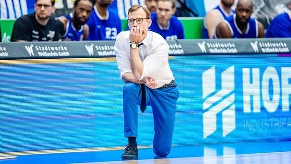 Trainer Björn Harmsen (Science City Jena)