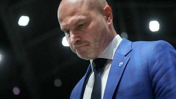 Braunschweig - MBC: Trainer Wojciech Kaminski