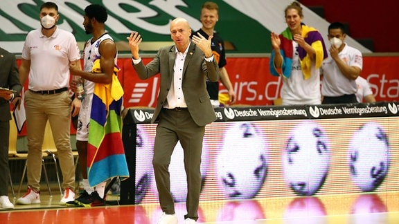 Trainer Rodrigo Pastore, Niners Chemnitz