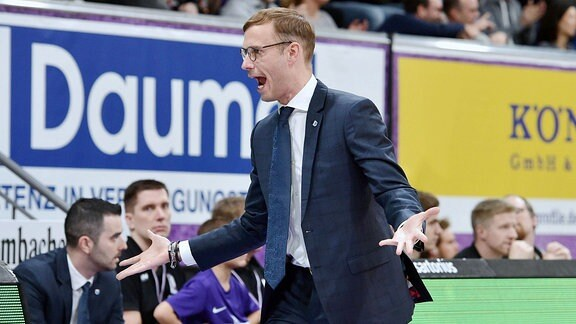 Bjoern Harmsen, Trainer Syntainics MBC