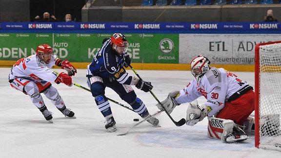 Ein Eishockeyspiel