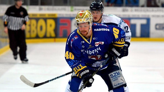 Anders Eriksson am Puck