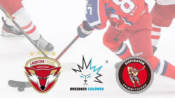 DEL2: Dresdner Eislöwen, Lausitzer Füchse, Eispiraten Crimmitschau, Eishockey