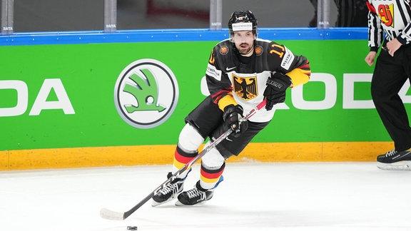 Marco Nowak beim Spiel.