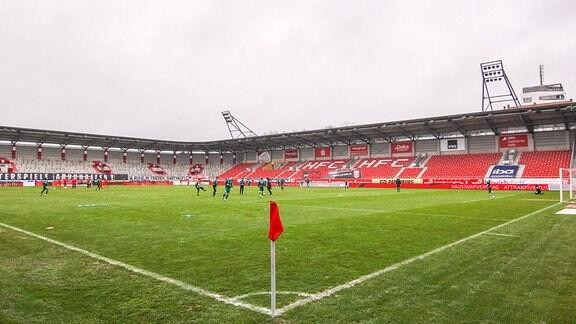 ERDGAS-Sportpark in Halle