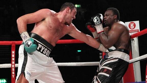 Tyson Fury kämpft gegen Dereck Chisora