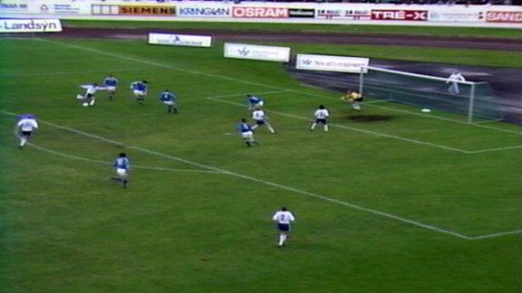 Island gegen DDR am 6.8.1989