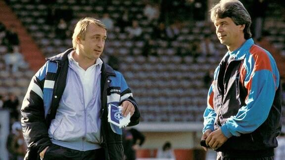 Joachim Streich und Jürgen Sparwasser