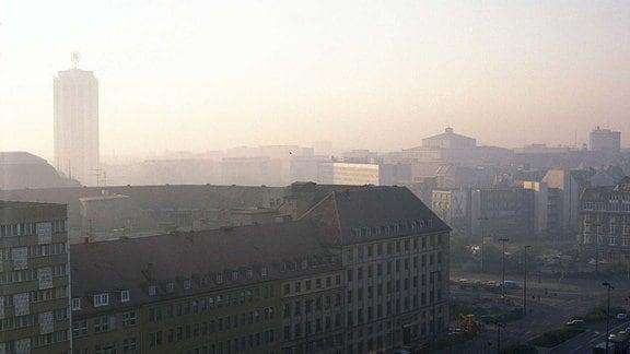 Leipzig im Jahr 1990