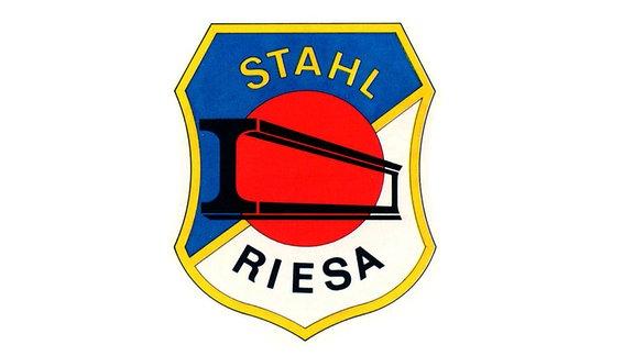 Das Logo von Stahl Riesa