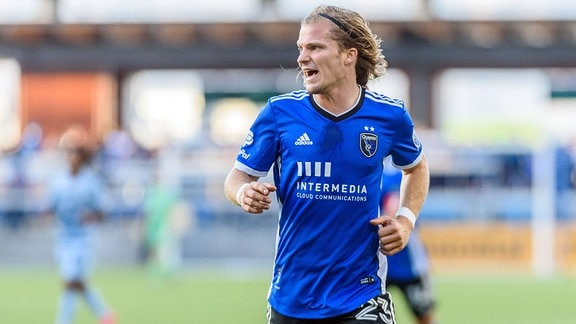 Florian Jungwirth auf dem Spielfeld.