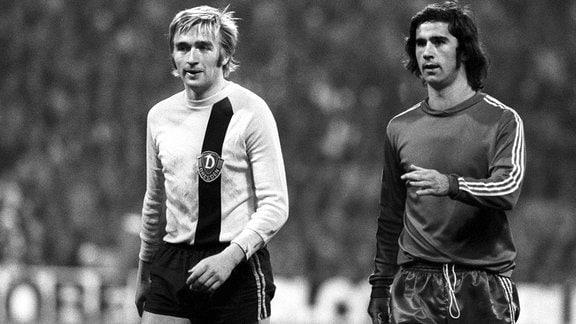 Siegmar Wätzlich und Gerd Müller, 1973