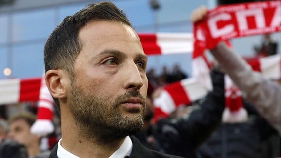 Domenico Tedesco (Trainer Spartak Moskau)