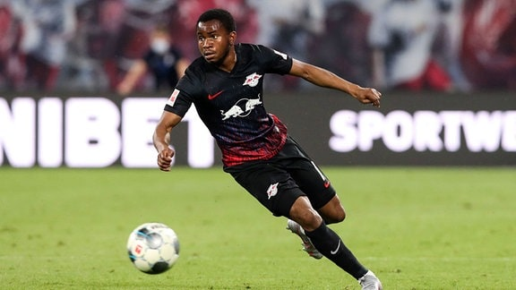 Ademola Lookman in Aktion