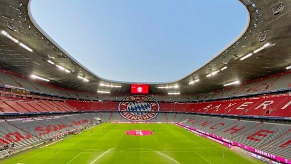 Innenraum Allianz Arena München