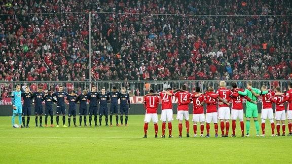 Schweigeminute, Gedenken an die Opfer des Terroranschlags in Berlin.