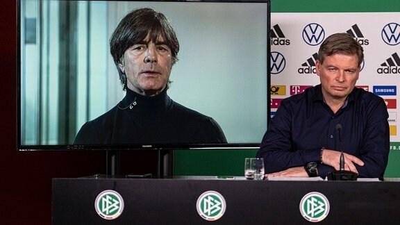 Joachim Löw und Jens Grittner