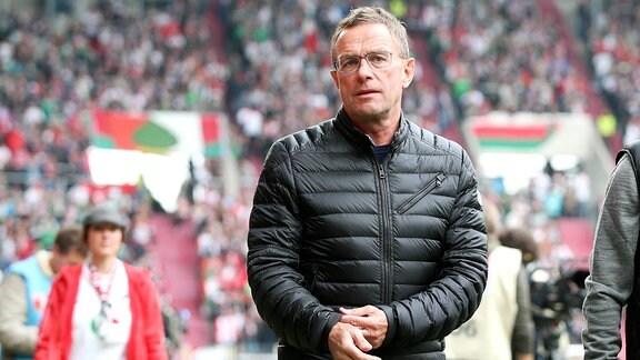 Ralf Rangnick, RB Leipzig Cheftrainer und Sportdirektor.