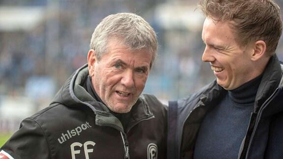 Friedhelm Funkel & Julian Nagelsmann