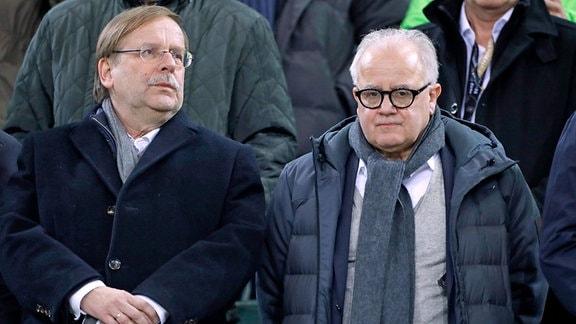 Fritz Keller und Rainer Koch