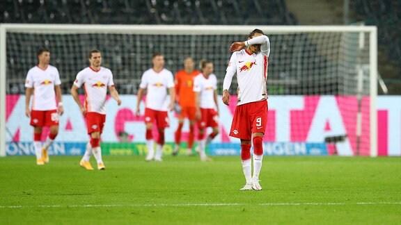 Enttäuschung bei Leipzigs Yussuf Poulsen