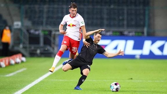 Lazar Samardzic und Stefan Lainer