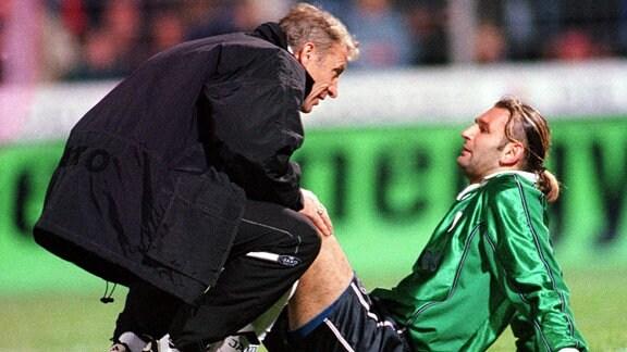 Eduard Geyer und Tomislav Piplica, 2000