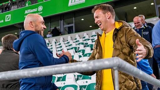 Julian Nagelsmann und Alfred Schreuder