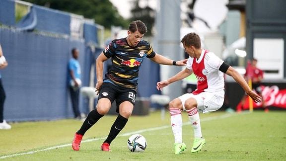 Lazar Samardzic 20, RB Leipzig, Victor Jensen 26, Ajax.
