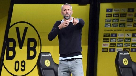 Trainer Marco Rose, Borussia Mönchengladbach