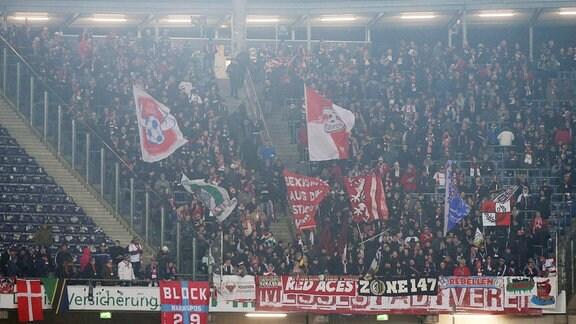 Fans von RB Leipzig