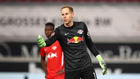 Torwart Peter Gulacsi (1, RB Leipzig)