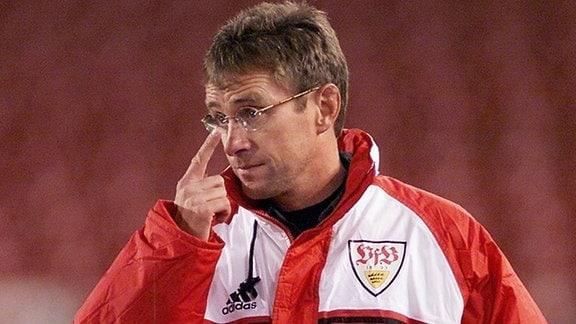 Ralf Rangnick während seiner Zeit beim VfB Stuttgart. (Archiv)