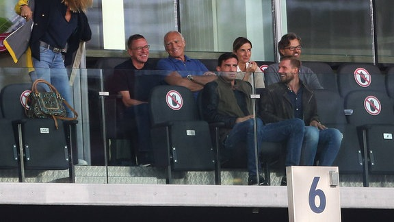 Ralf Rangnick und Dietrich Mateschitz