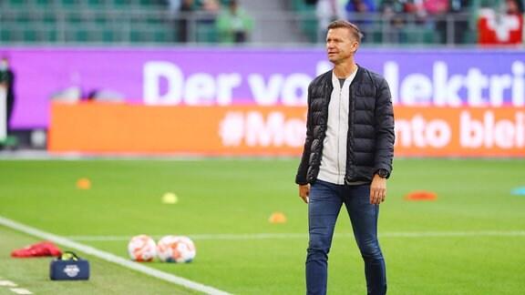 Trainer Jesse Marsch, RB Leipzig