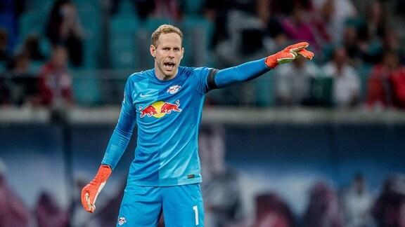 Leipzigs Torwart Peter Gulacsi.