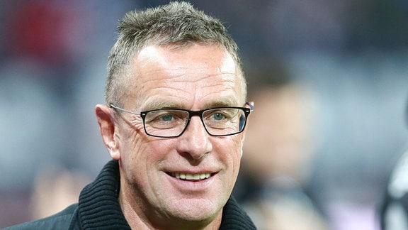 Trainer Ralf Rangnick, RB Leipzig