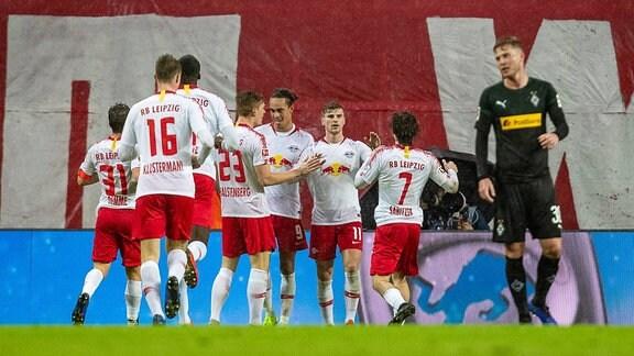 Jubel bei RB Leipzig