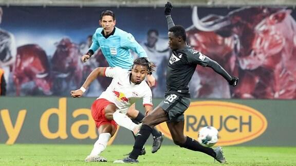 Christopher Nkunku (18, RB Leipzig) und Diadie Samassekou (18, Hoffenheim).