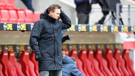 Trainer Julian Nagelsmann, RB Leipzig