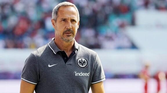 Trainer Addi Hütter, SG Eintracht Frankfurt