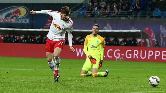 Timo Werner Torschuß Tor zum 2:0