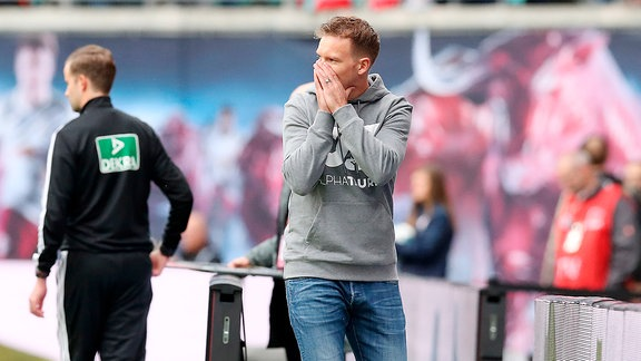Trainer Julian Nagelsman, RB Leipzig