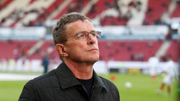 Trainer Ralf Rangnick (RB Leipzig)