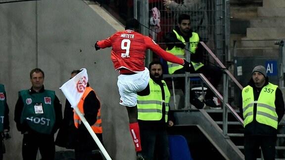 Jean-Philippe Mateta (FSV Mainz 05) Torjubel