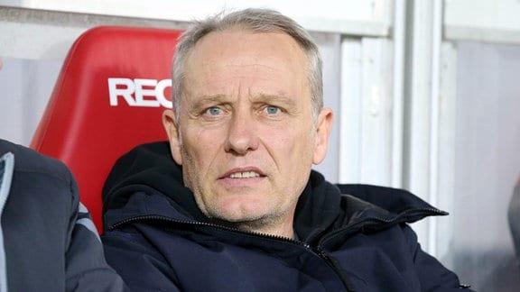 Trainer Christian Streich, SC Freiburg.