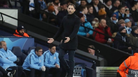 FC Schalke 04 Cheftrainer Domenico Tedesco