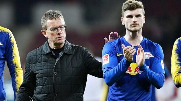 Timo Werner & Ralf Rangnick