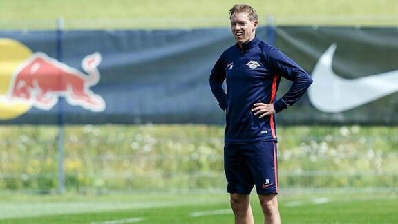 Seefeld, Oesterreich, 16.07.2019, Trainingslager RB Leipzig, Trainer Julian Nagelsmann (RBL)